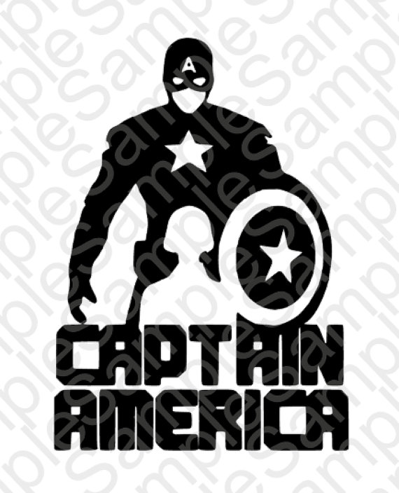 Captain America svg #7, Download drawings