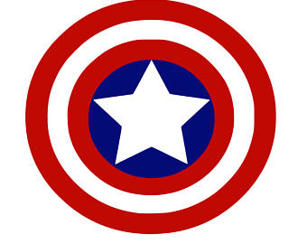 Captain America svg #20, Download drawings