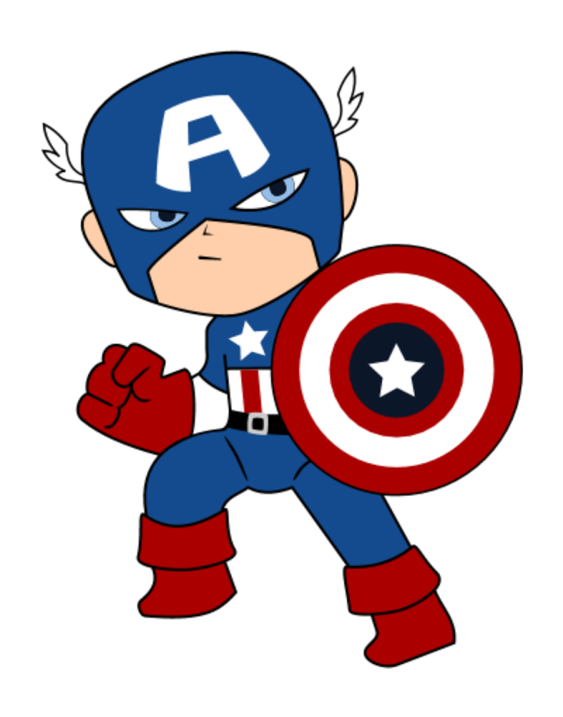 Captain America svg #12, Download drawings