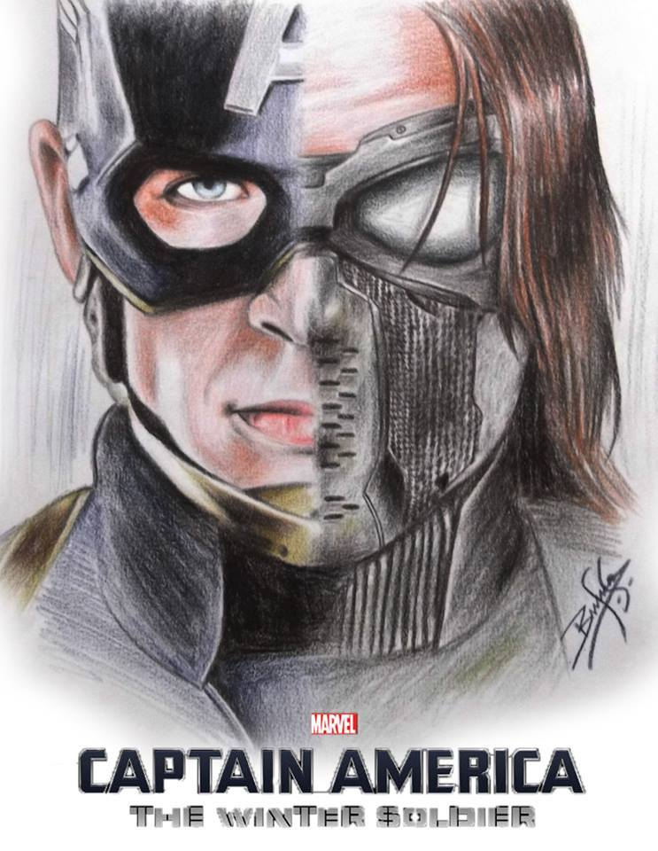 Captain America: The Winter Soldier clipart #9, Download drawings