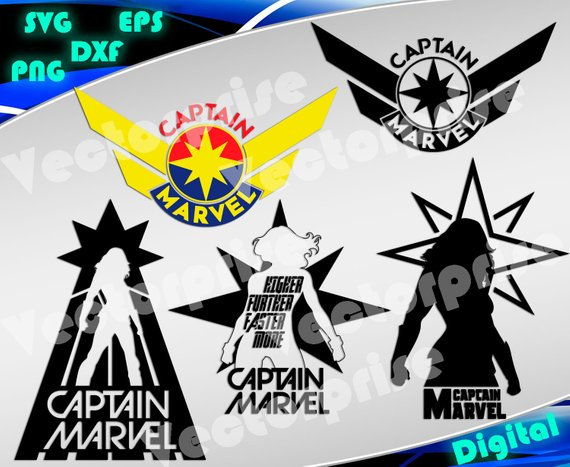 captain marvel svg #824, Download drawings
