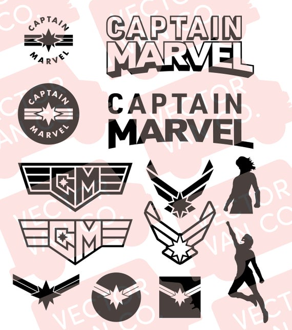 captain marvel svg #818, Download drawings