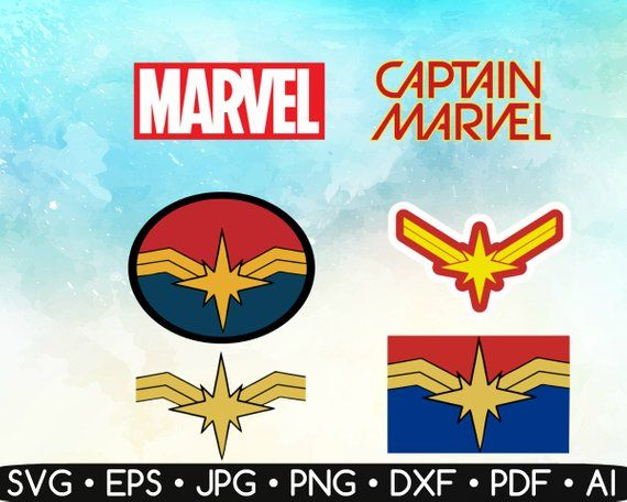 captain marvel svg #822, Download drawings