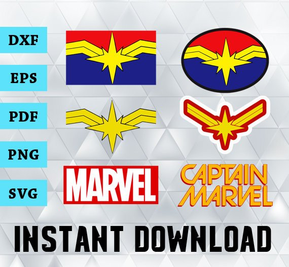 captain marvel svg #819, Download drawings