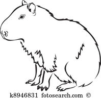 Capybara clipart #19, Download drawings