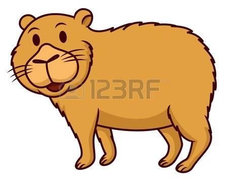 Capybara clipart #7, Download drawings