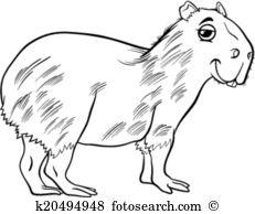 Capybara clipart #12, Download drawings
