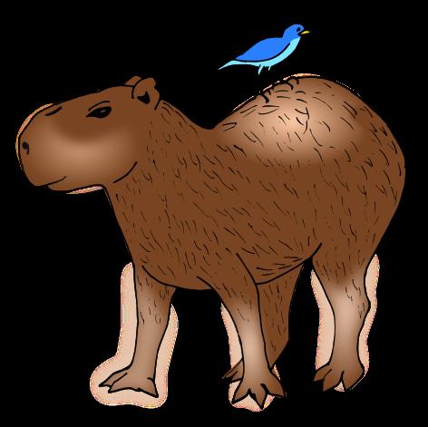 Capybara clipart #20, Download drawings