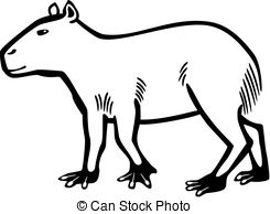 Capybara clipart #17, Download drawings