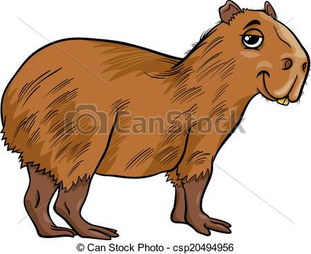 Capybara clipart #15, Download drawings
