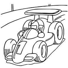Race coloring #20, Download drawings
