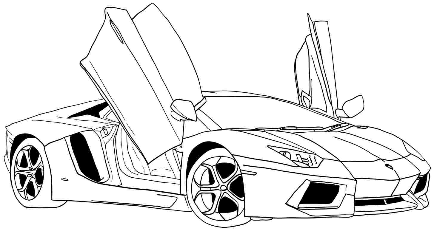 Car coloring #2, Download drawings
