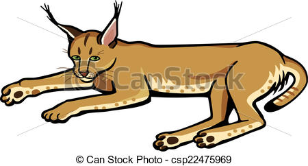 Caracal clipart #1, Download drawings