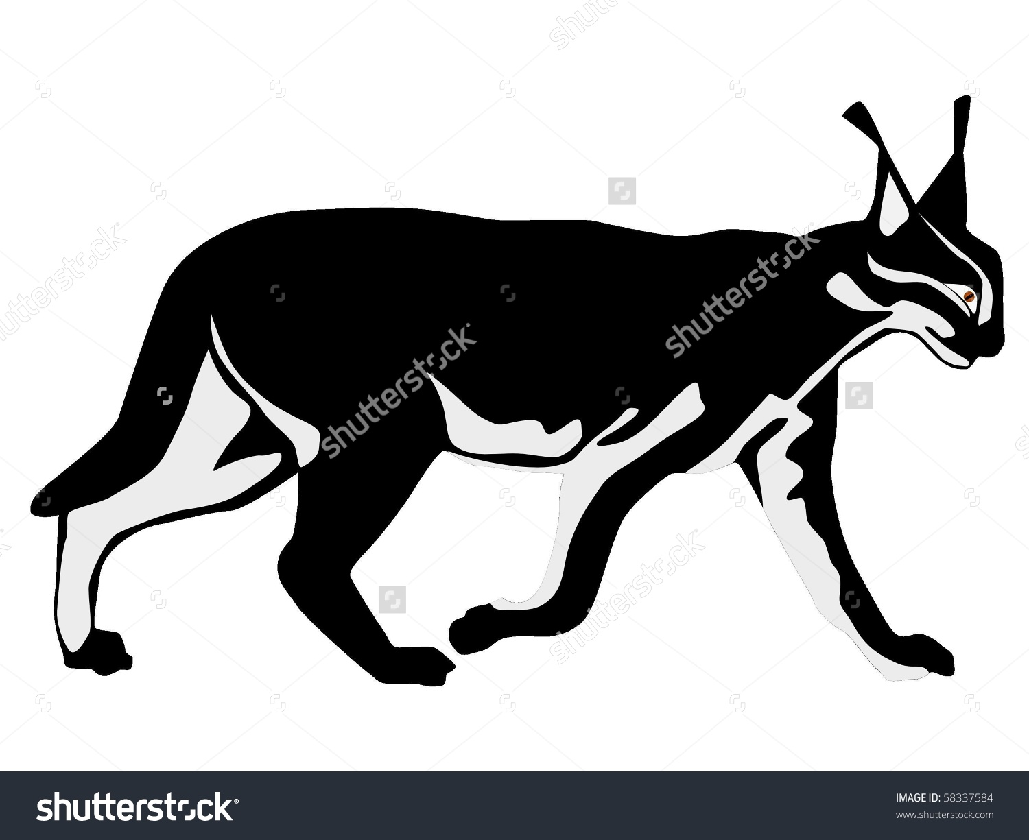 Caracal clipart #15, Download drawings