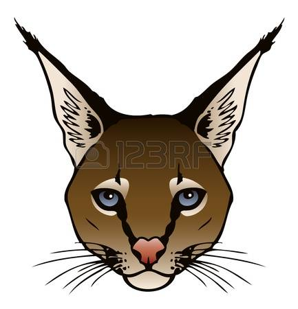 Caracal clipart #5, Download drawings