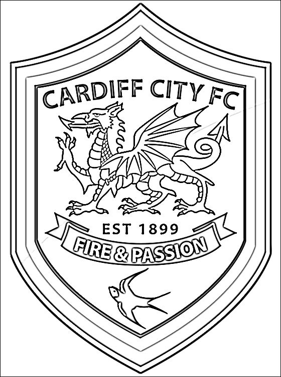 Cardiff coloring #11, Download drawings