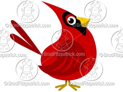 Cardinal clipart #15, Download drawings