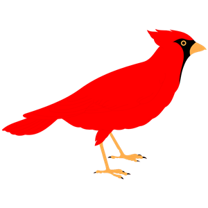 Cardinal svg #592, Download drawings