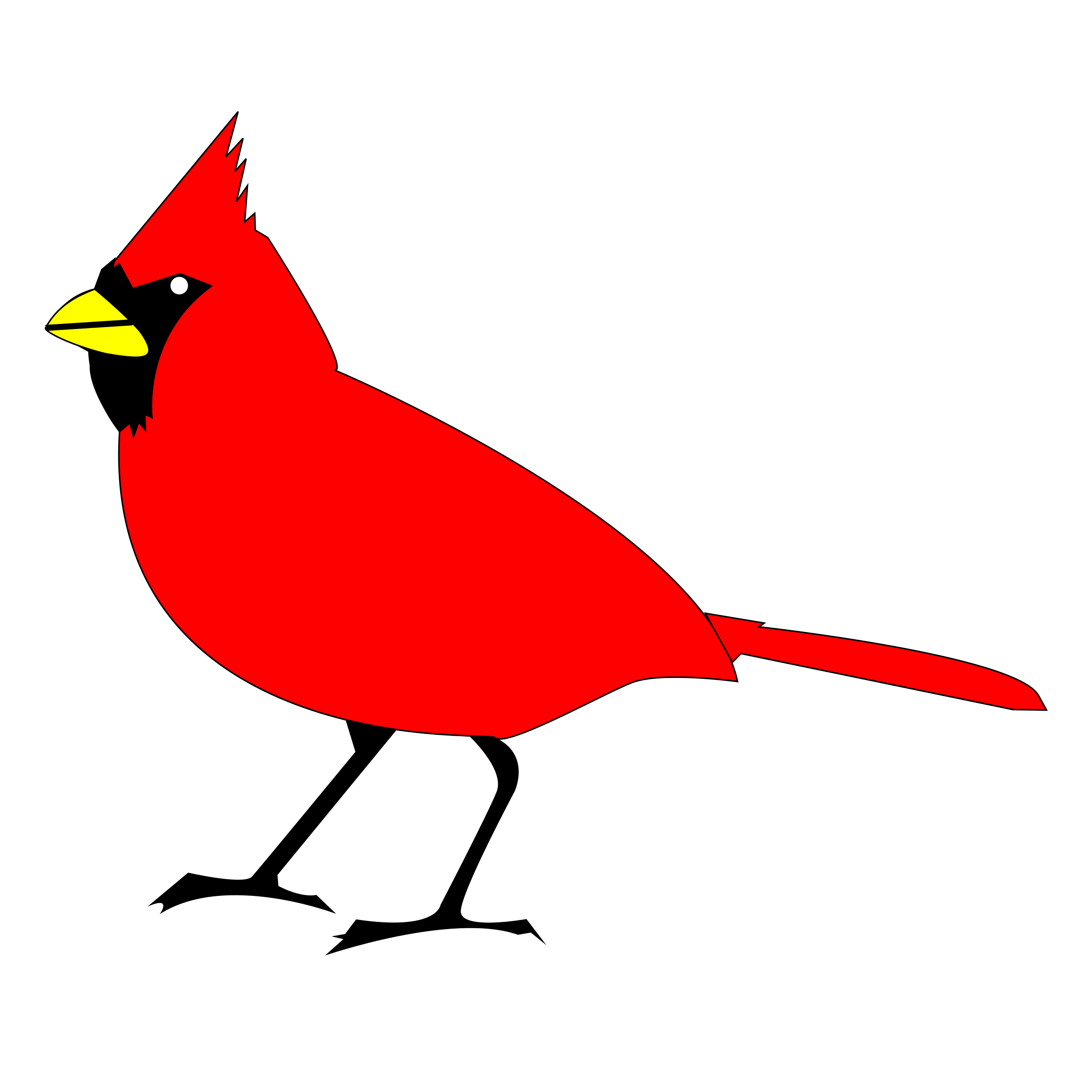Cardinal svg #262, Download drawings