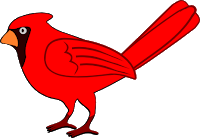 Cardinal svg #253, Download drawings