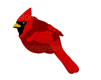 Cardinal svg #257, Download drawings
