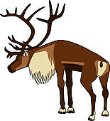 Caribou clipart #15, Download drawings