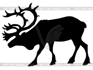Caribou clipart #2, Download drawings