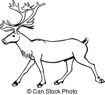 Caribou clipart #14, Download drawings