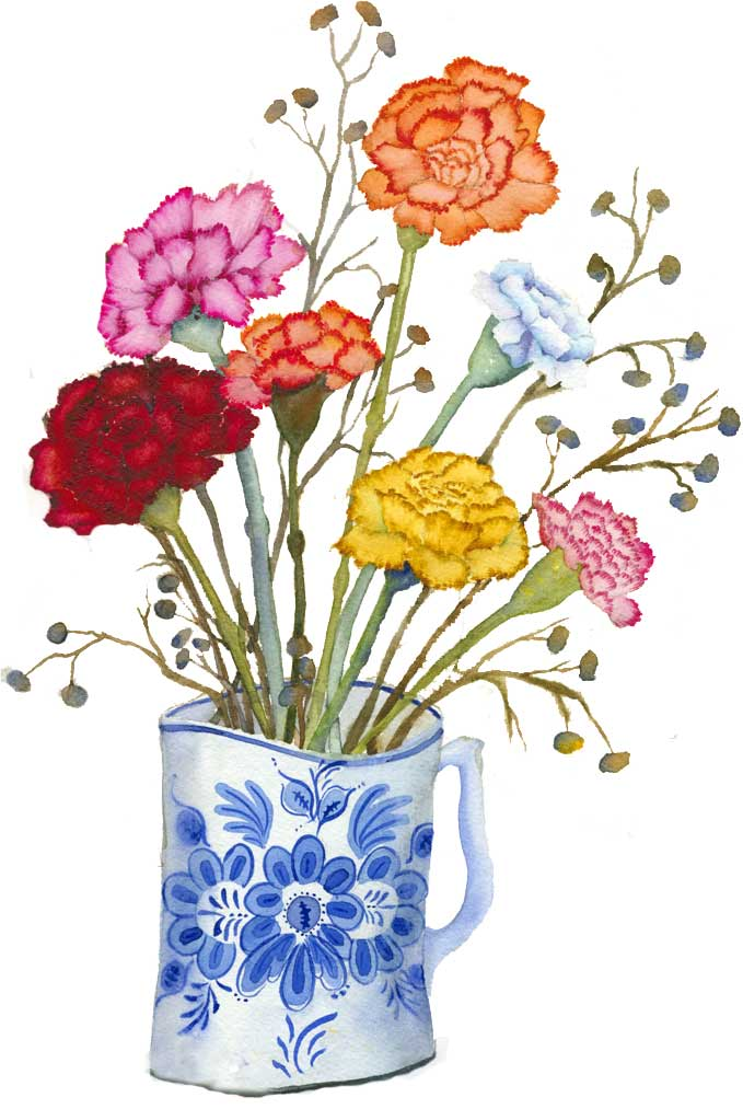Carnation clipart #5, Download drawings