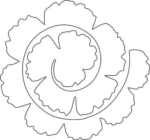 Carnation svg #1, Download drawings