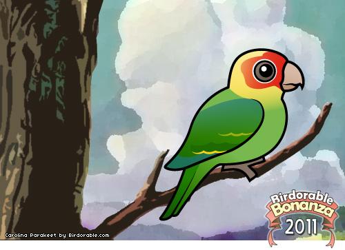 Carolina Parakeet coloring #8, Download drawings