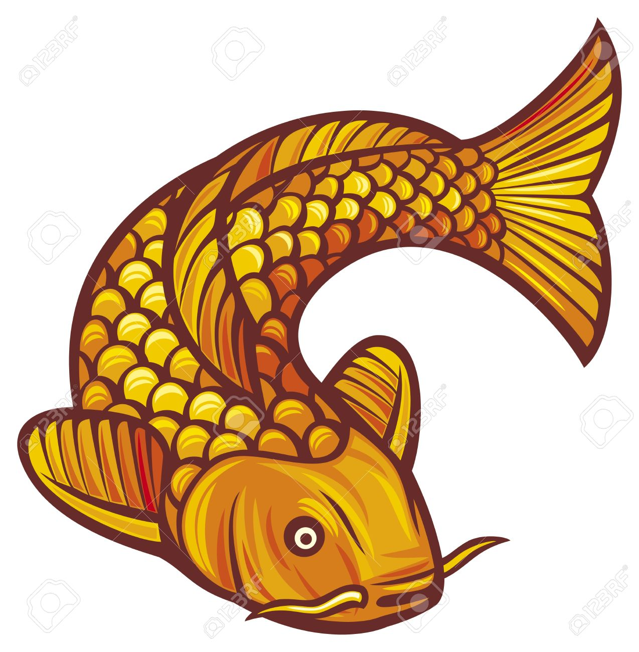 Koi clipart #20, Download drawings