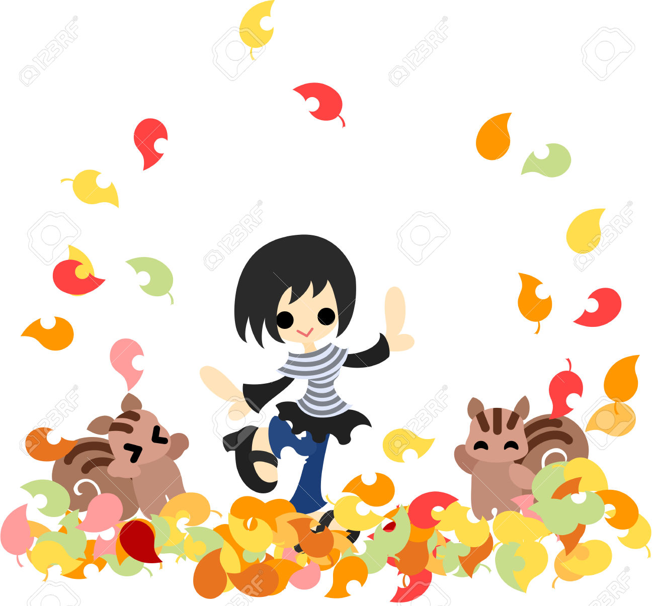 Carpet Of Leaves clipart #1, Download drawings