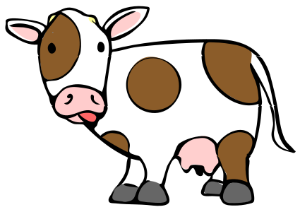 Cow svg #1, Download drawings