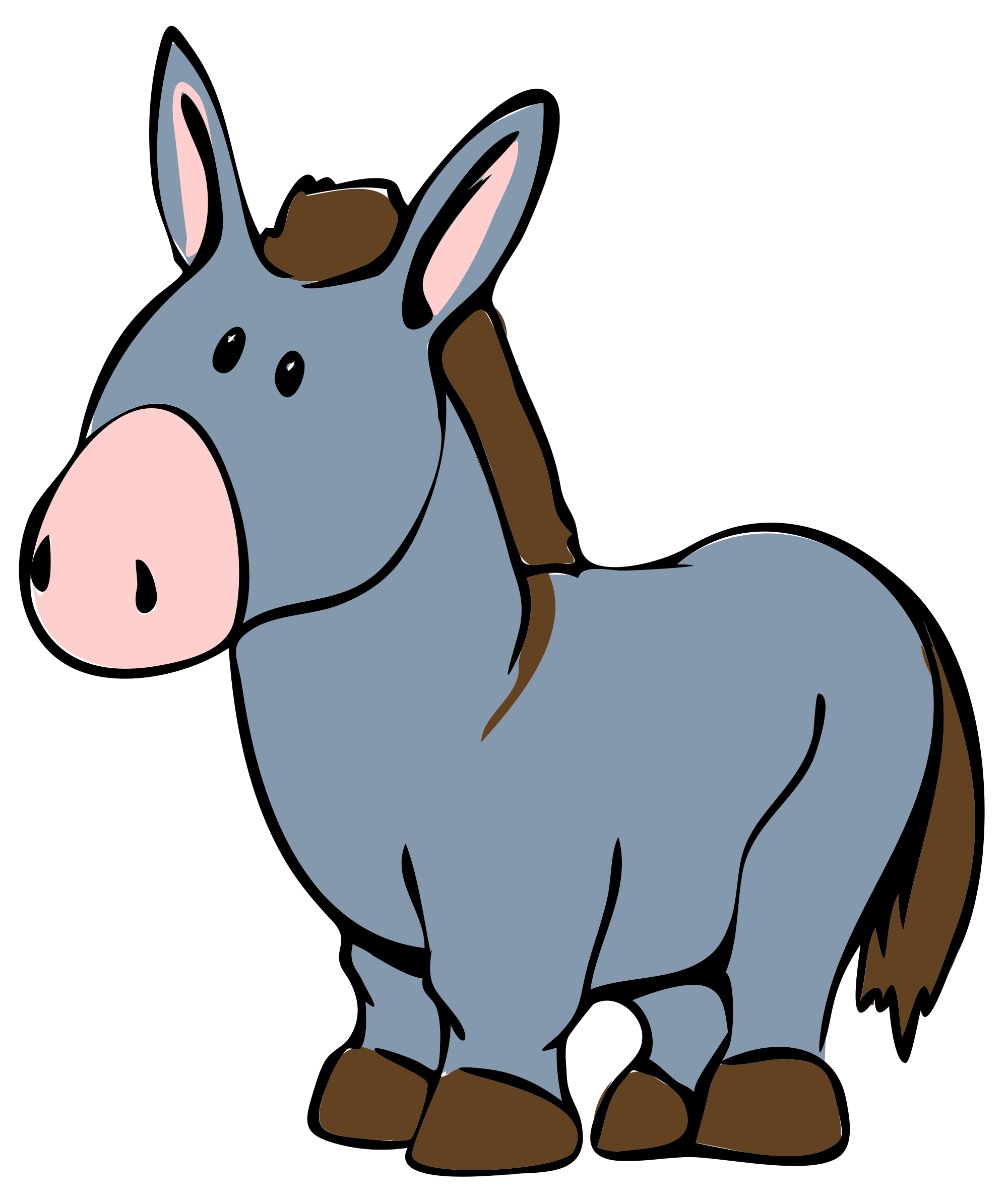 Donkey svg #3, Download drawings