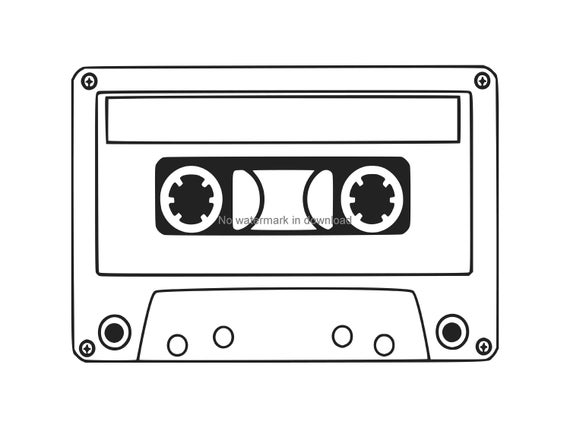 cassette tape svg #1173, Download drawings