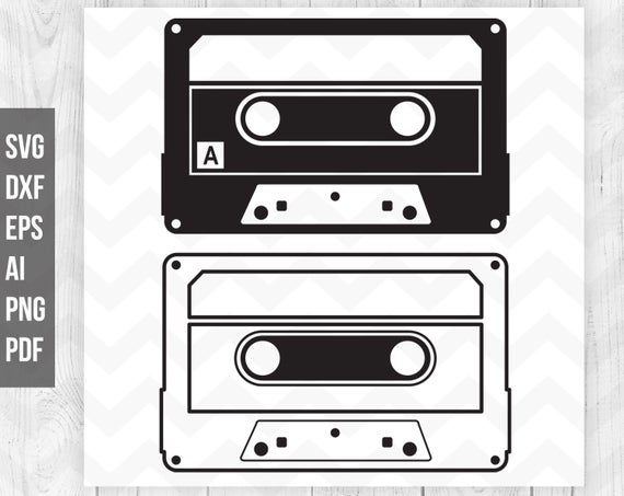 cassette tape svg #1178, Download drawings
