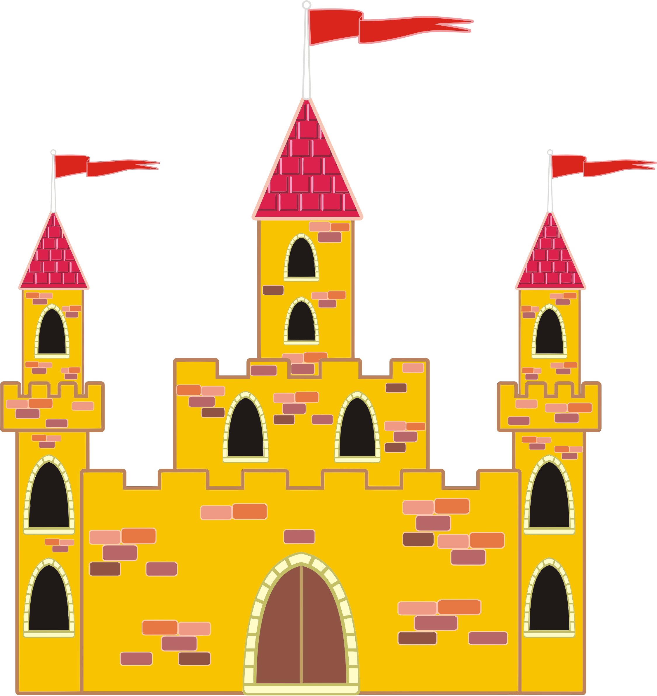 Castle clipart #2, Download drawings