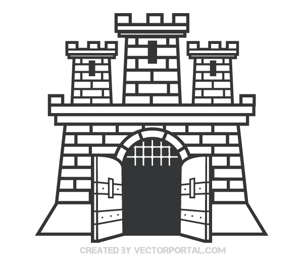 Castle clipart #8, Download drawings