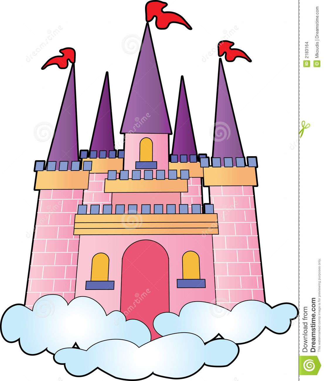 Castle clipart #7, Download drawings