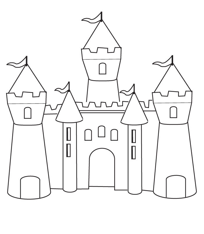 Loa Castle coloring #7, Download drawings
