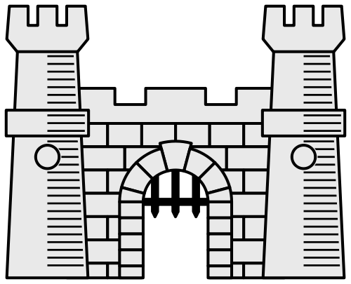 Castle svg #675, Download drawings