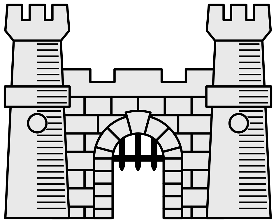Castle svg #11, Download drawings