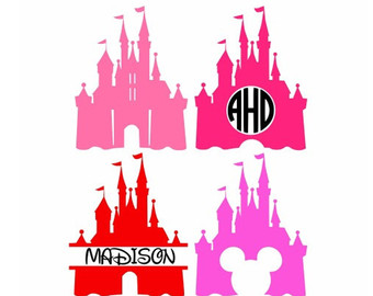 Cinderella's Castle svg #2, Download drawings