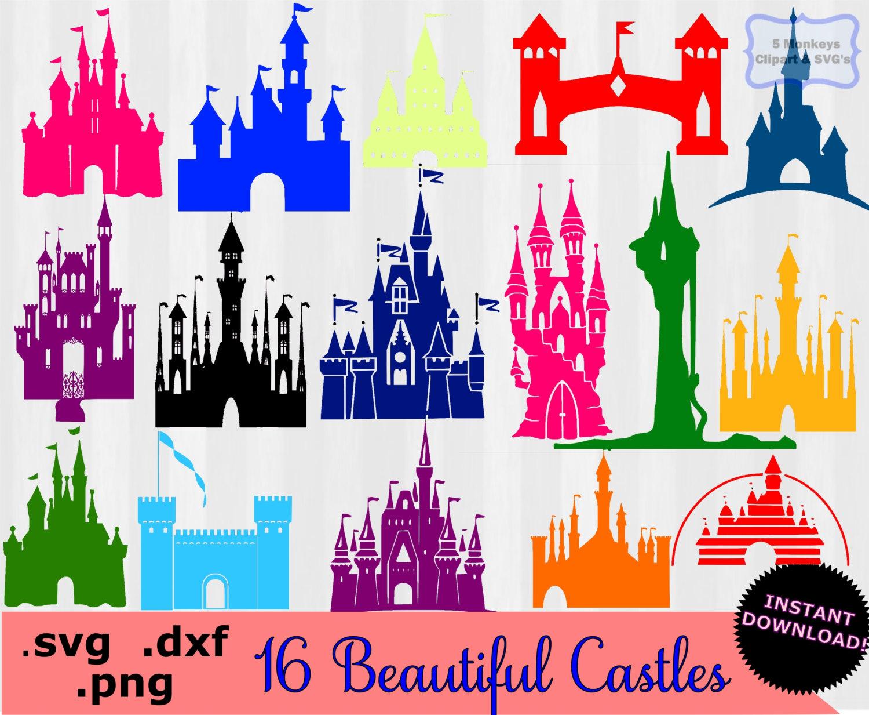 Cinderella's Castle svg #4, Download drawings