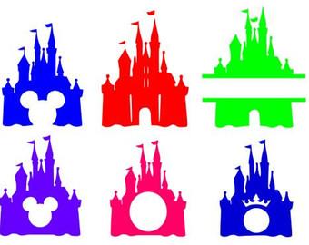 Cinderella's Castle svg #10, Download drawings