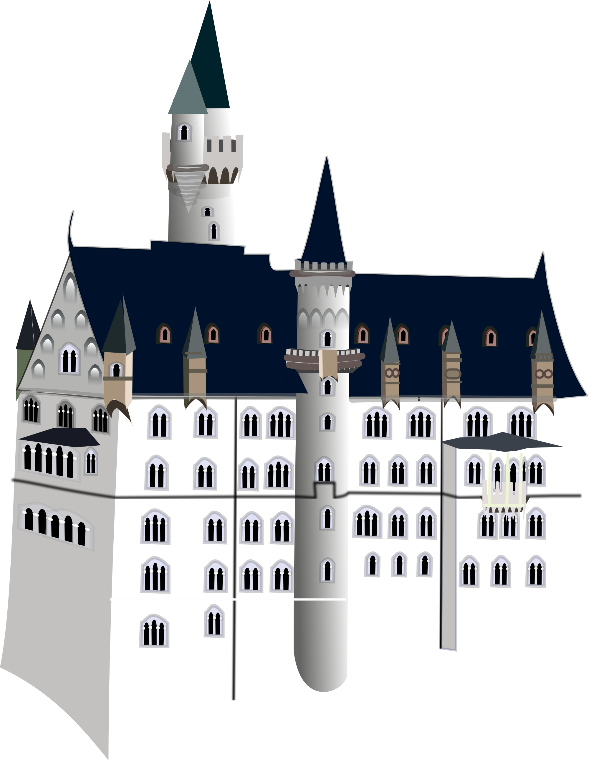 Castle svg #268, Download drawings