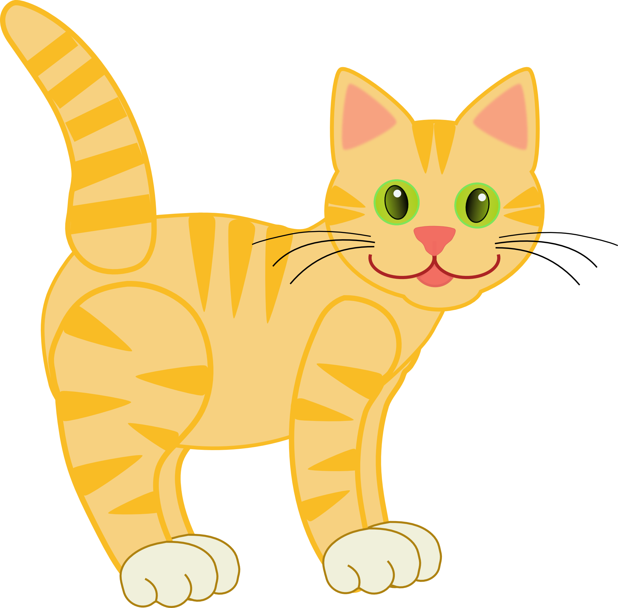 Cat clipart #2, Download drawings