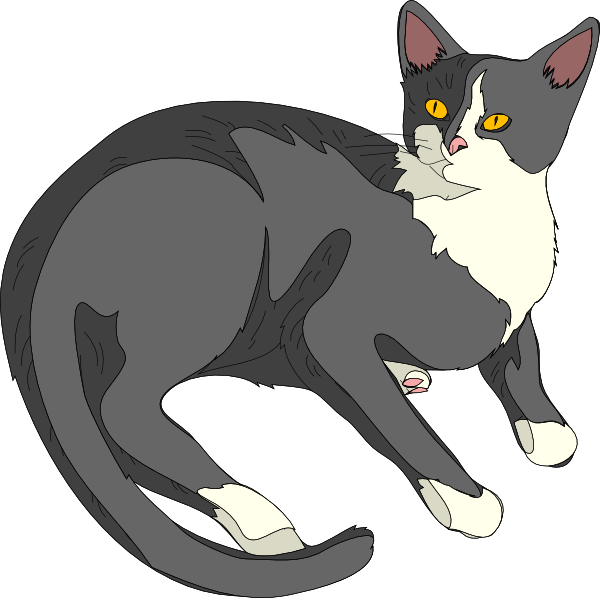 Cat clipart #7, Download drawings