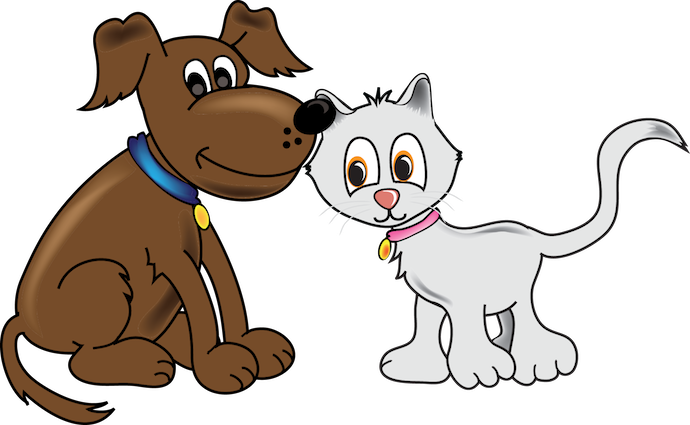 Cat & Dog clipart #10, Download drawings